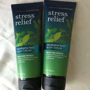 BBW  stress relief Body Cream New